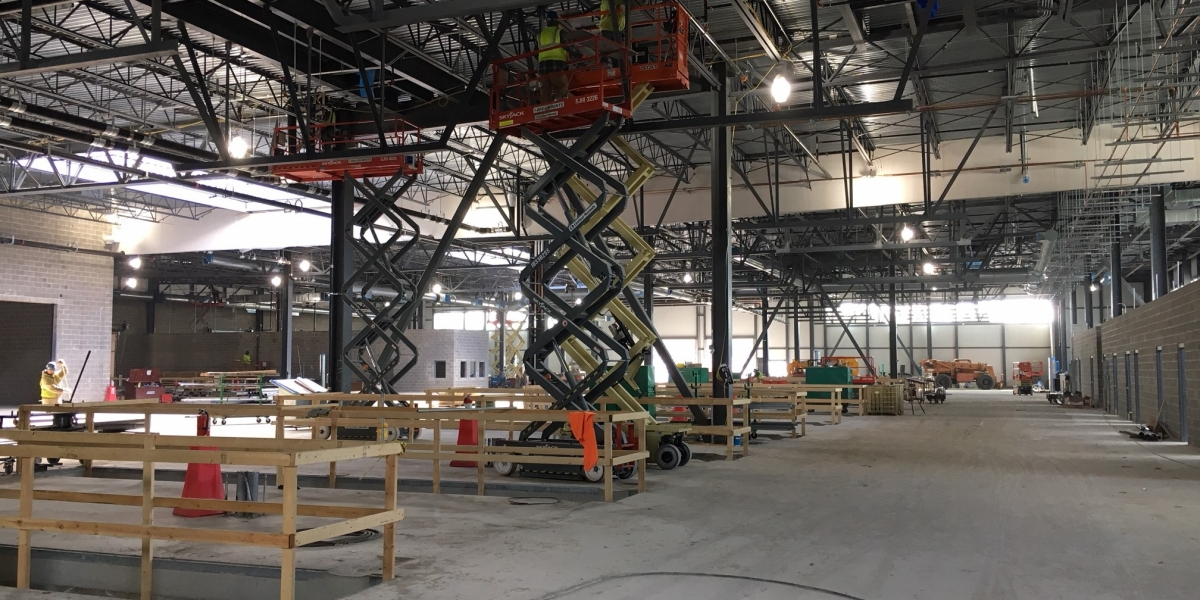 Inside the New PVTA facility