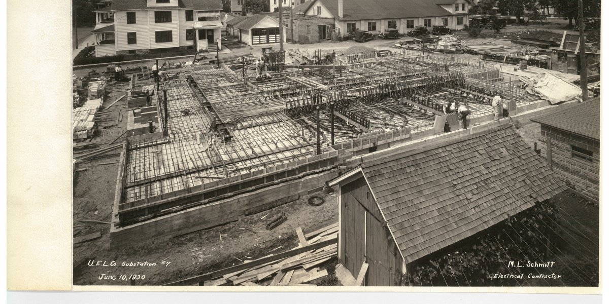 Slab work in the 1930's
